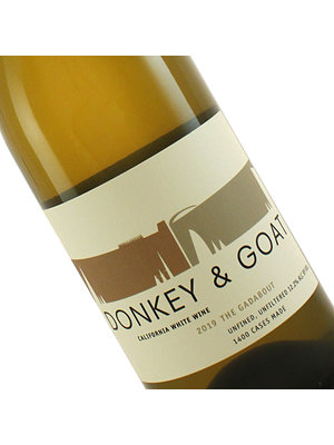 """Donkey & Goat 2019 """"The Gadabout"""" White Wine Unfiltered, California"""