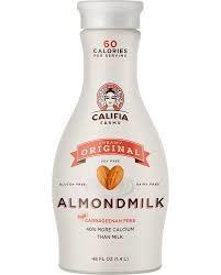 Califia Farms Creamy Original Almond Milk, 48oz. - Bakersfield, CA