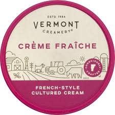 Vermont Creamery Creme Fraiche, 8oz.