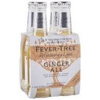 Fever Tree Refreshingly Light Ginger Ale - 4 pack