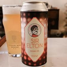 "Laughing Monk Brewing ""Sir Elton"" Double IPA 16oz. Can - San Francisco, CA"