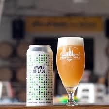 """Los Angeles Ale Works """"Waves of Jade"""" Juicy IPA 16oz. Can - Hawthorne, CA"""