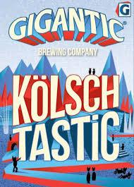 "Gigantic Brewing Co ""Kolsch Tastic""16.9oz bottle- Portland, Oregon"
