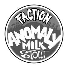 "Faction Brewing ""Anomaly"" Nitro Milk Stout 16oz. Can - Alameda, CA"