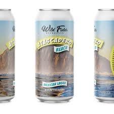 "Wild Fields Brewhouse ""Atascadero Beach"" Mexican Lager 16oz can- Atascadero, CA"