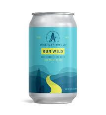 "Athletic Brewing ""Run Wild"" Non Alcoholic IPA 12oz. Can - San Diego, CA"