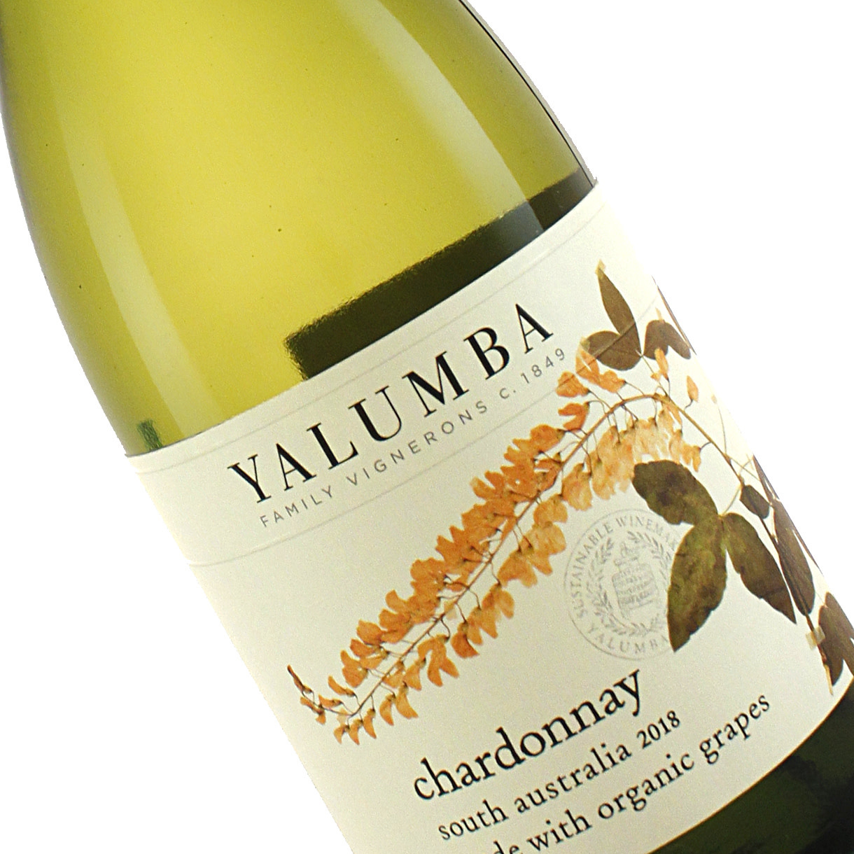 Yalumba 2018 Chardonnay Organic, South Australia