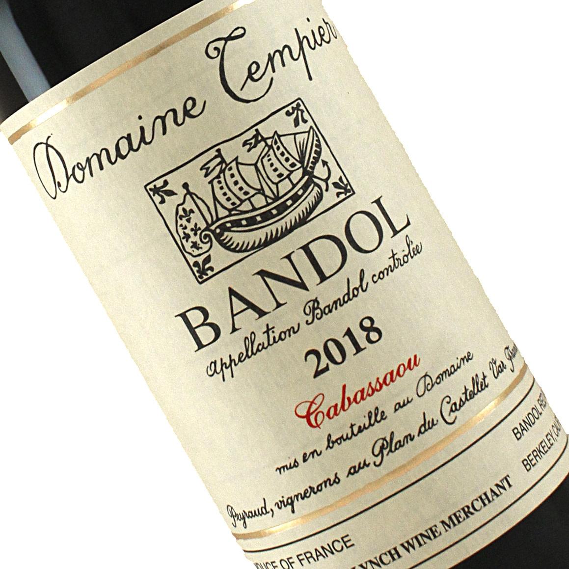 "Domaine Tempier 2018 Bandol ""Cabassaou"" Provence"