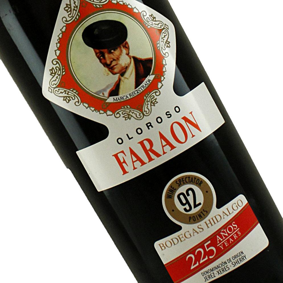 "Hidalgo ""Faraon"" Oloroso  Seco Sherry, Sanlúcar de Barrameda, Spain 500ml"