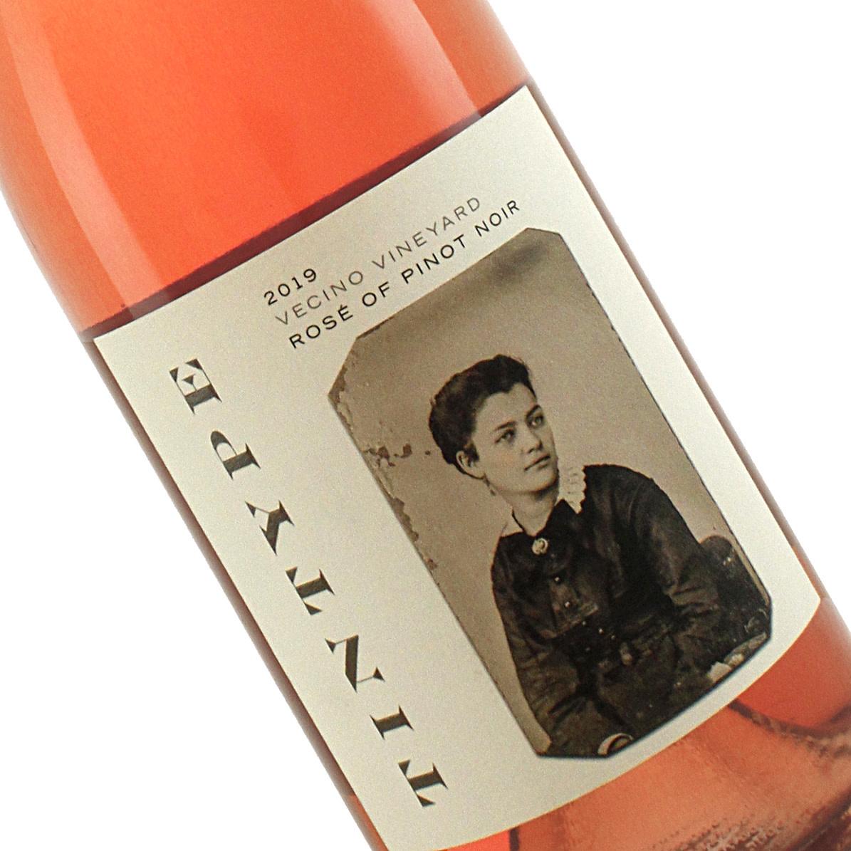 TinType  2019 Rose of Pinot Noir Vecino Vineyard, Mendocino County