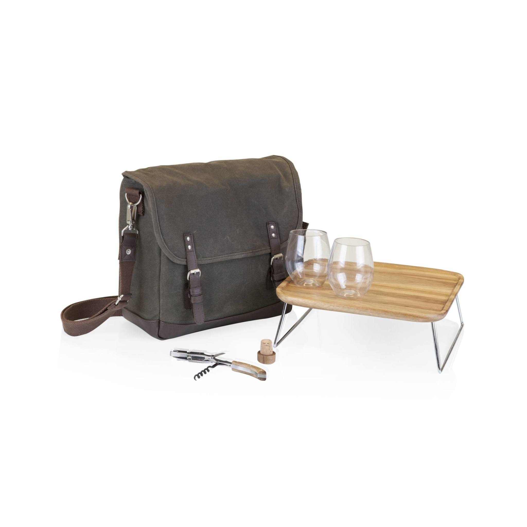 """Picnic Time """"Adventure"""" Wine Tote for Two"""