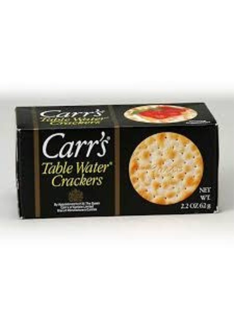 Carr's Table Water Crackers 2.2oz.