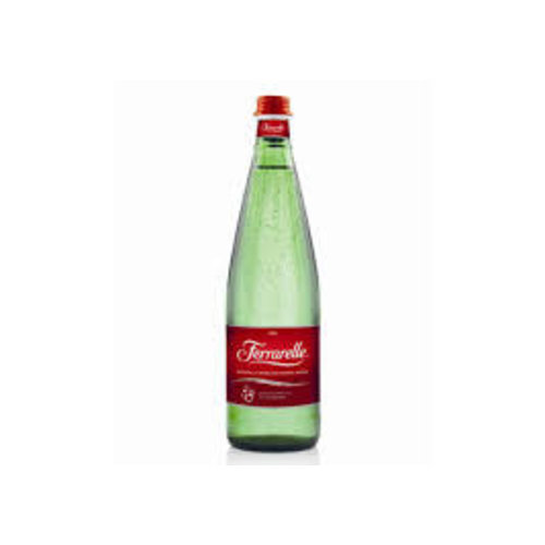 Ferrarelle Sparkling Natural Mineral Water, Rome, Italy 750ml. Bottle