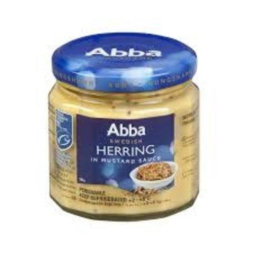 Abba Swedish Herring in Mustard Sauce 8oz.