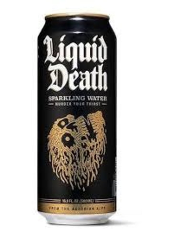 "Liquid Death Austrian ""Sparkling Water"" 16oz can"