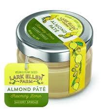 Lark Ellen Farm Almond Pate Savory Spread - Rosemary Lemon