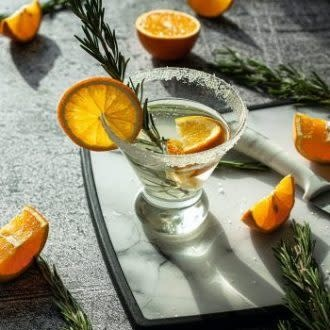 Yes! Cocktail Dehydrated Cocktail Garnishes - Orange