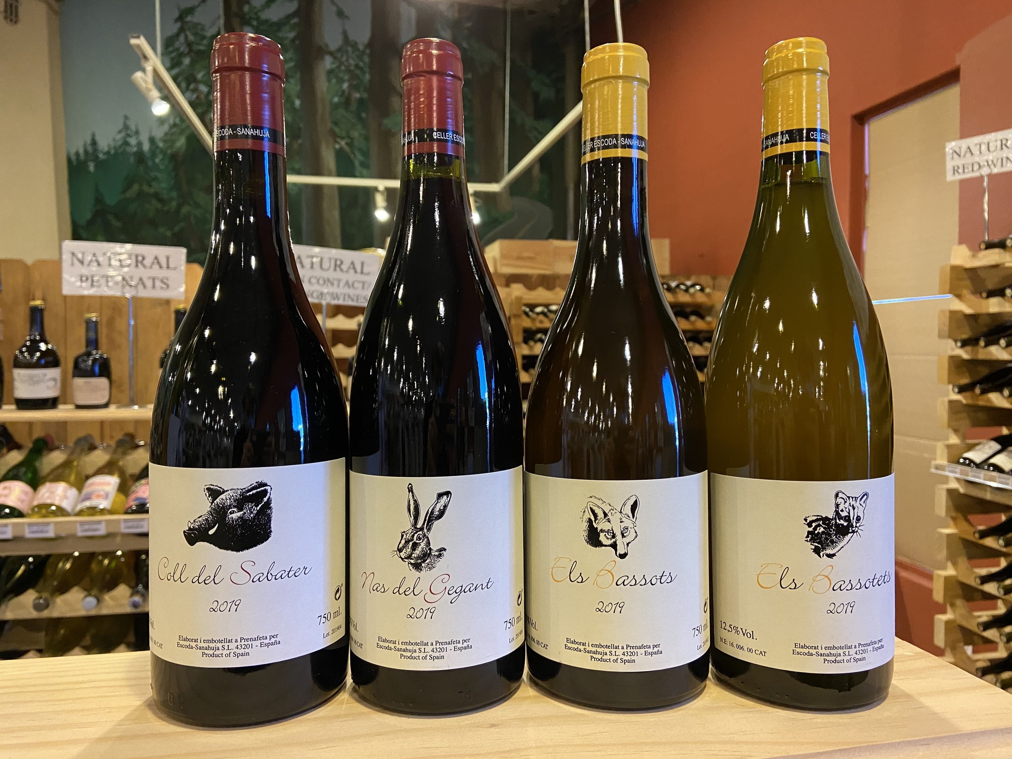 The Intriguing Nas del Gegant--How I Came to Love Natural Wines