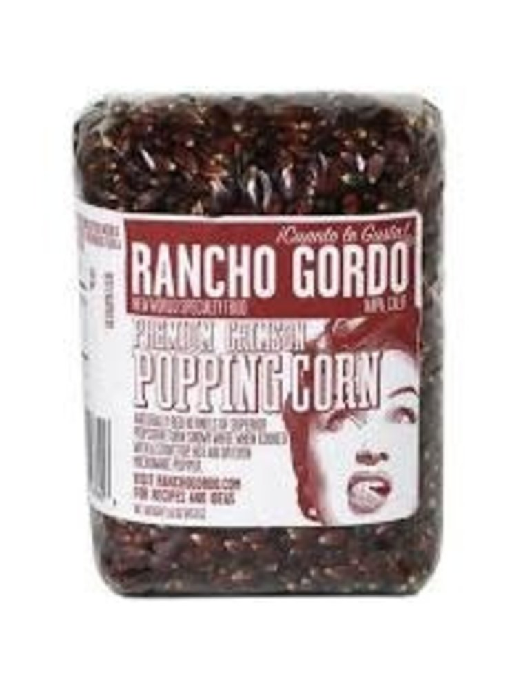 Rancho Gordo Premium Crimson Popping Corn 16oz. Napa, CA