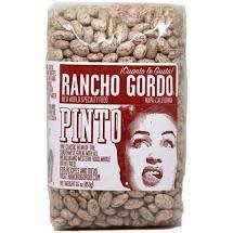 Rancho Gordo Pinto Beans 16oz. Napa, CA