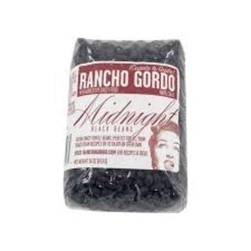 Rancho Gordo Midnight Black Beans 16oz. Napa, CA