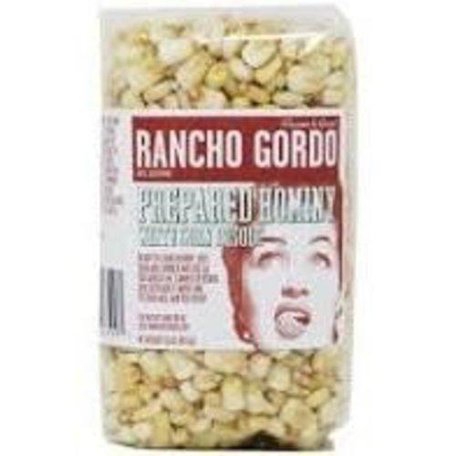 Rancho Gordo Prepared Hominy White Corn Posole 16oz. Napa, CA