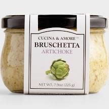Cucina & Amore Artichoke Bruschetta 7.9 oz, San Francisco