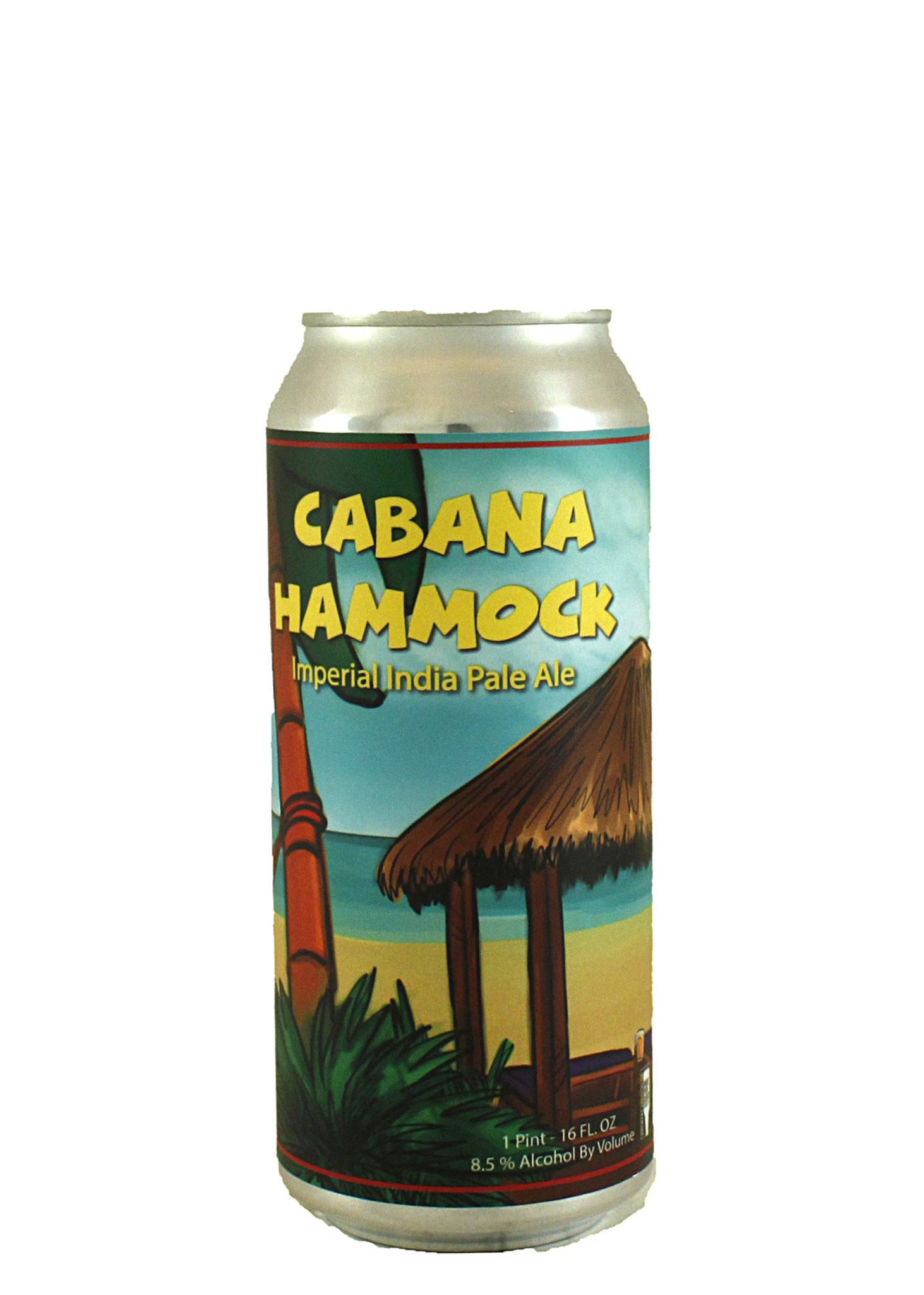 "Moonraker Brewing ""Cabana Hammock"" Imperial IPA 16oz. Can - Auburn, CA"