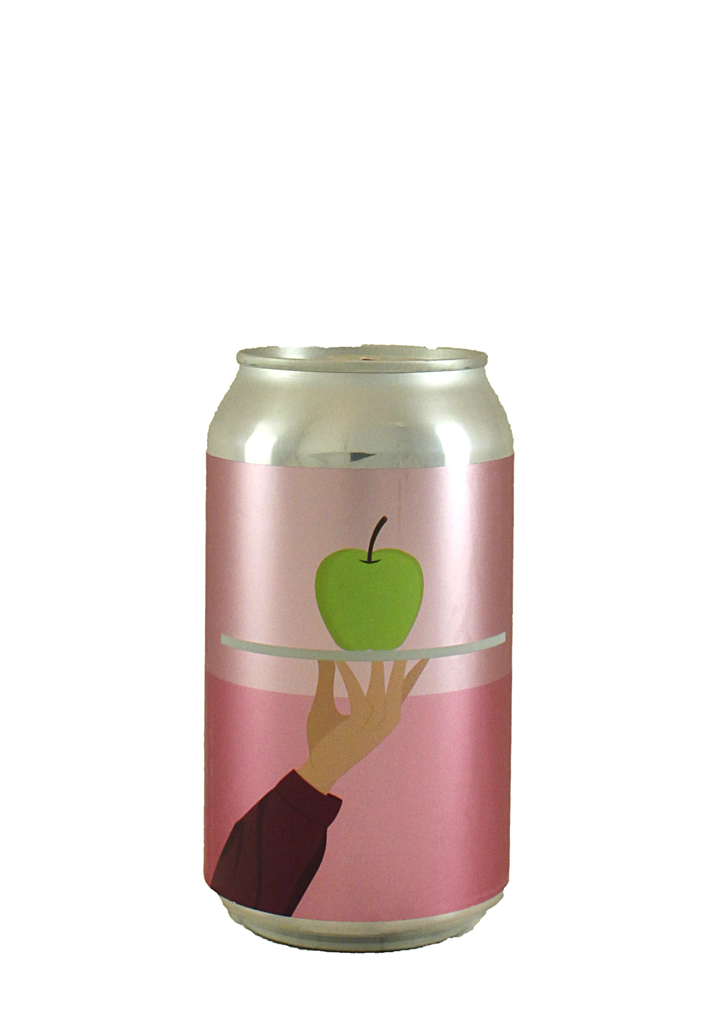 "Urban Roots Brewing ""Boy With Apple"" Ale Brewed w/Apple Juice, Vanilla & Cinnamon 12oz. Can - Sacramento, CA"