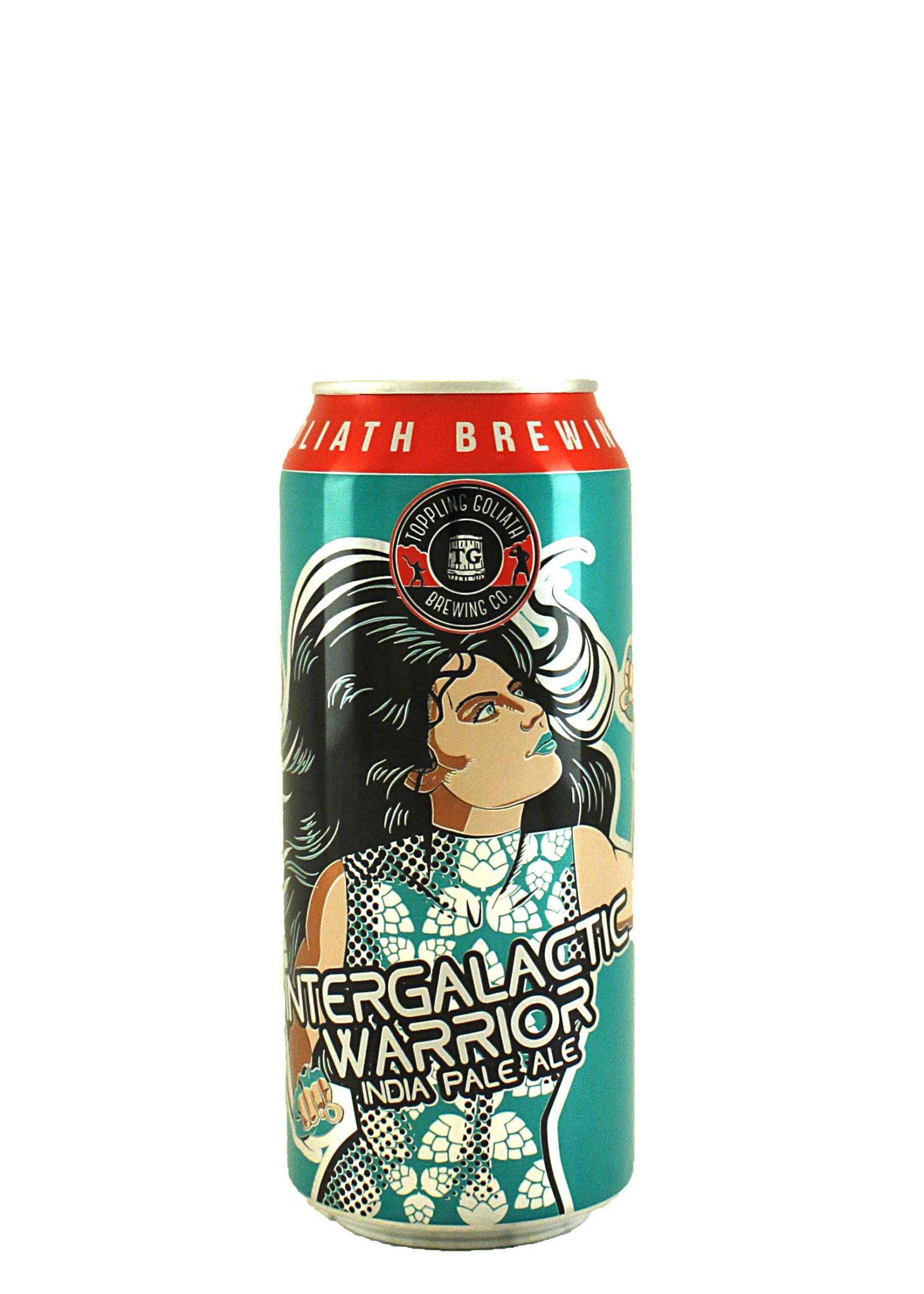 "Toppling Goliath Brewing ""Intergalactic Warrior"" IPA 16oz. Can - Decorah, Iowa"
