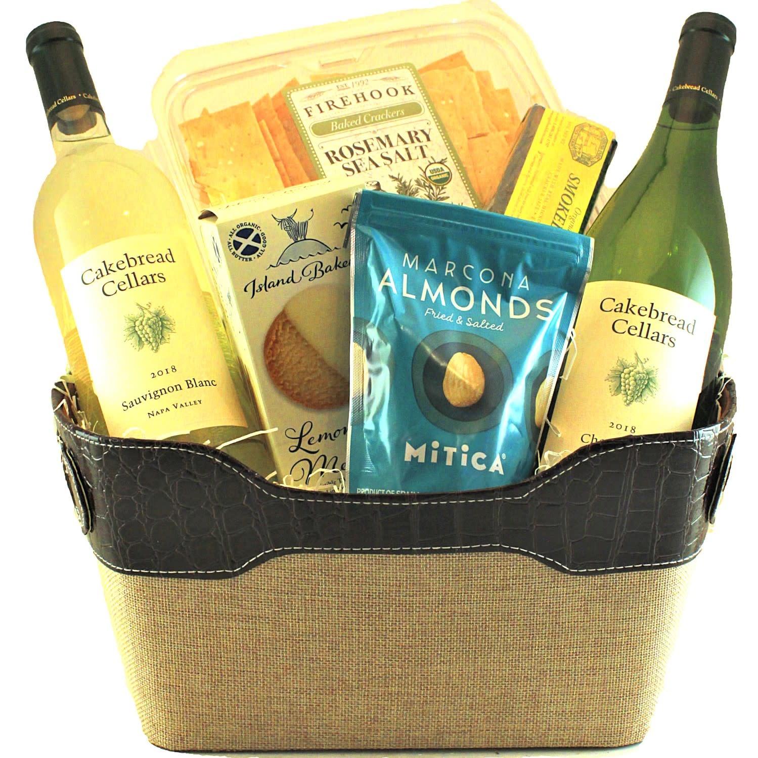 """White Wine Classics"" Cakebread Cellars Gift Basket"