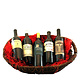 """Hot for Zin!"" 5 Bottle Boutique Zinfandel Gift Basket"