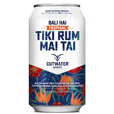 Cutwater Bali Hai Tiki Rum Mai Tai 12oz. Cocktail