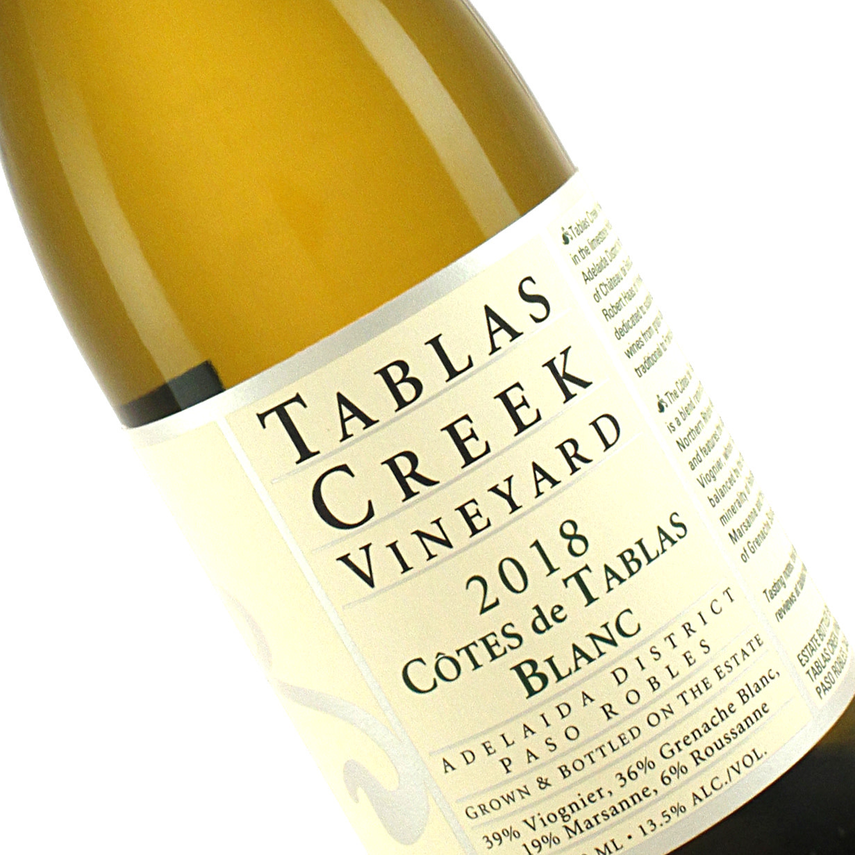 Tablas Creek 2018 Cotes de Tablas Blanc Adelaida District, Paso Robles