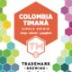 "Trademark Brewing ""Colombia Timana"" Single Origin Whole Bean Coffee 12oz."