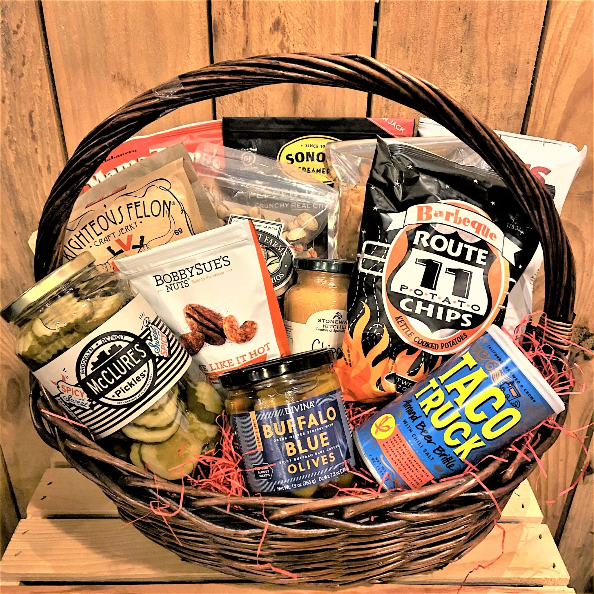 """""""Spicy Mama"""" Gift Basket"""