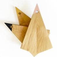 Charcuterie Board Handmade, Paint -Dipped Birch