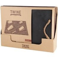 Slate Cheese Board with Handles by Twine