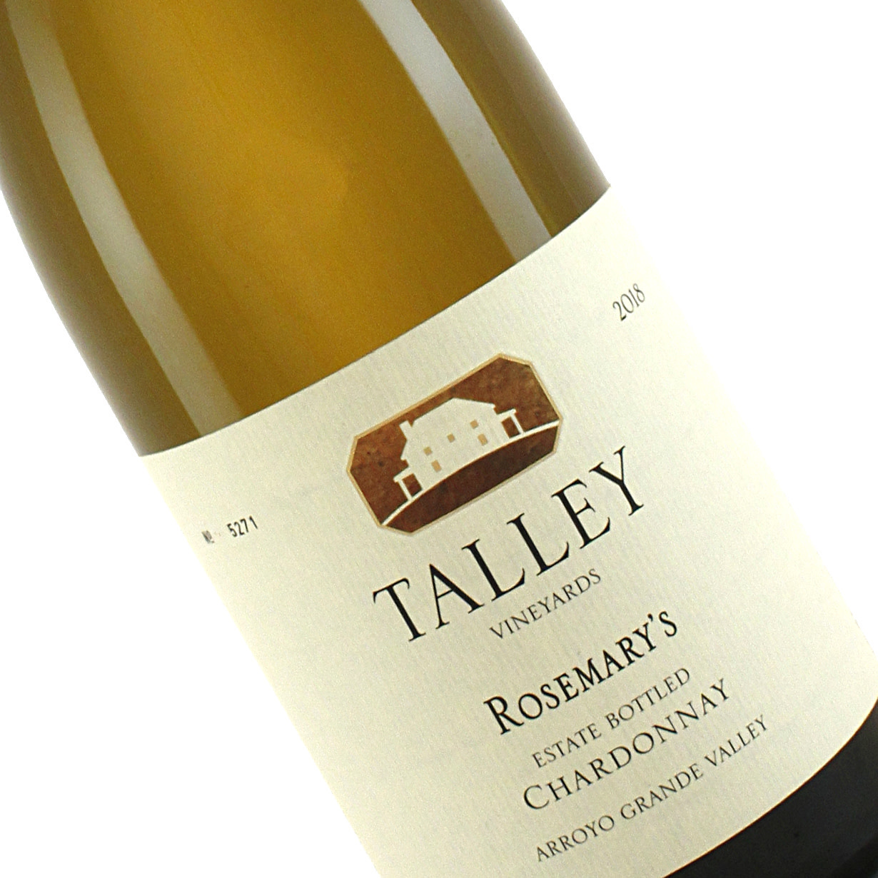 Talley 2018 Chardonnay Rosemary's Vineyard, Arroyo Grande Valley, California