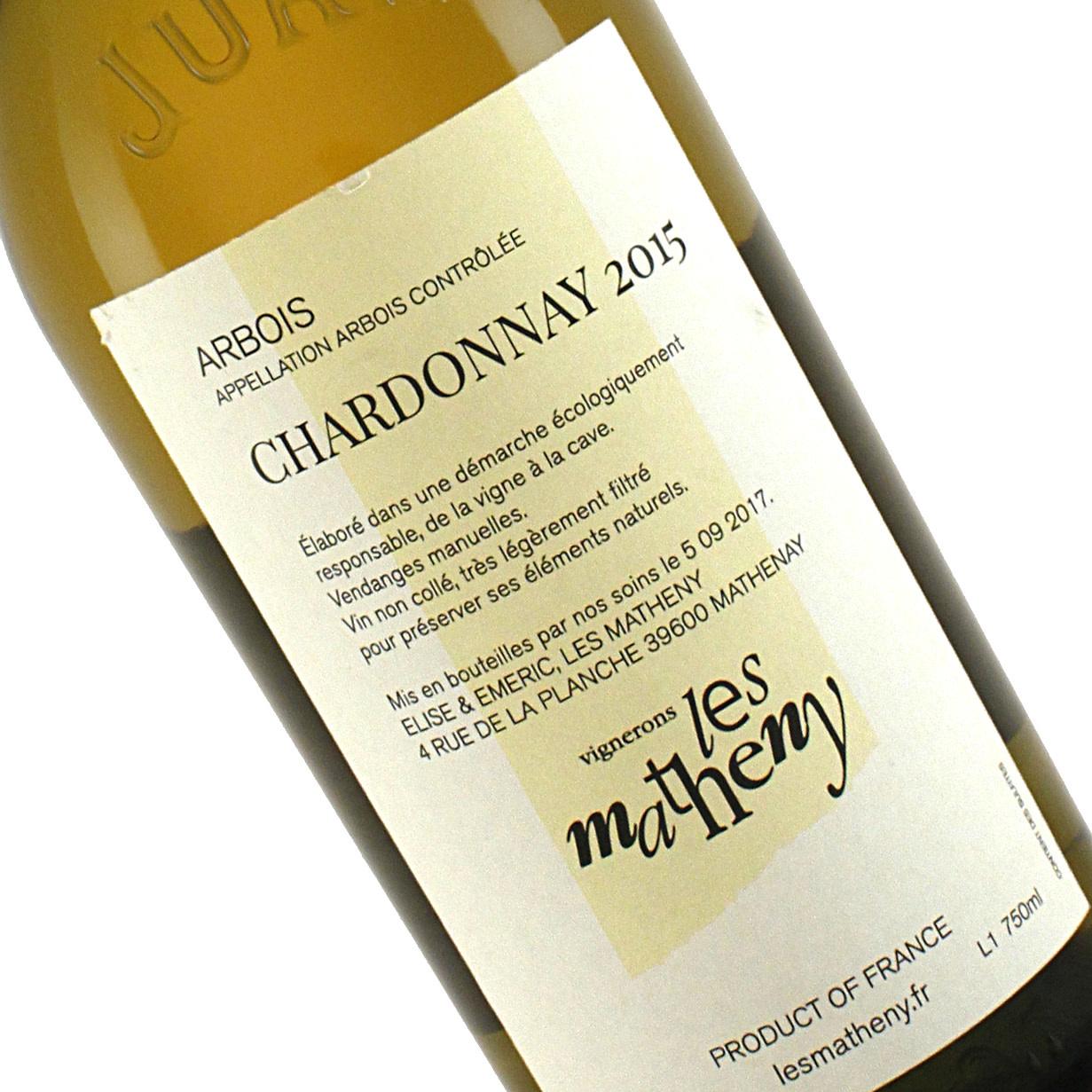 """Matheny 2015 Chardonnay Arbois """"Les Matheny"""", Jura"""
