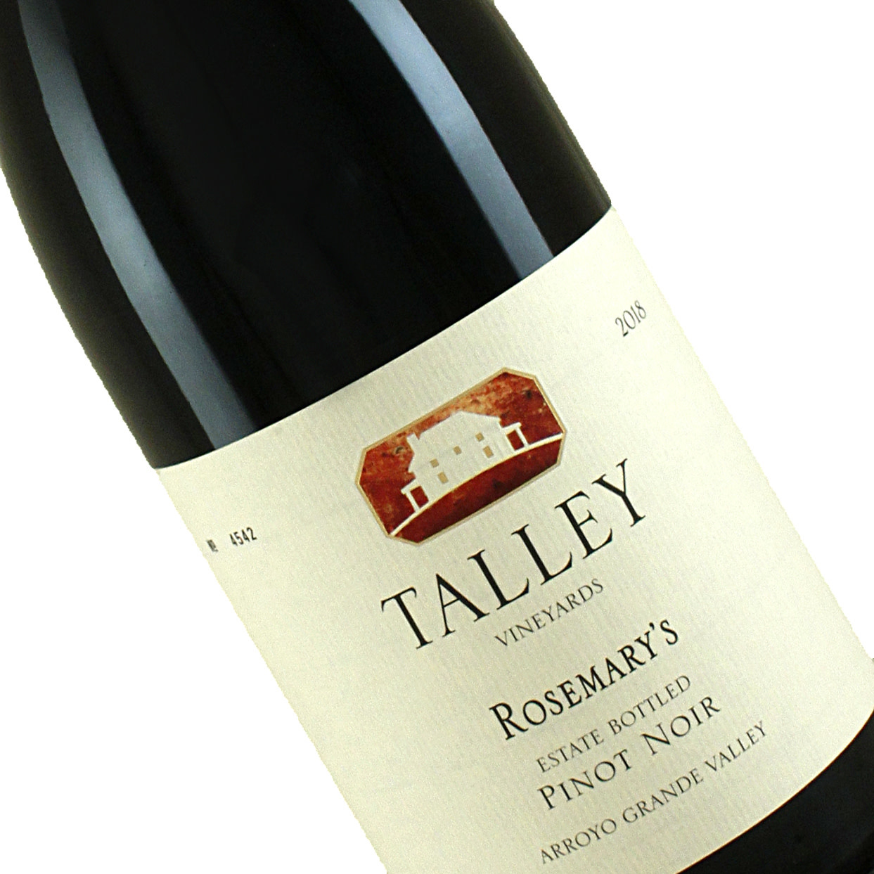 Talley 2018 Estate Pinot Noir Rosemary's Vineyard, Arroyo Grande Valley, California