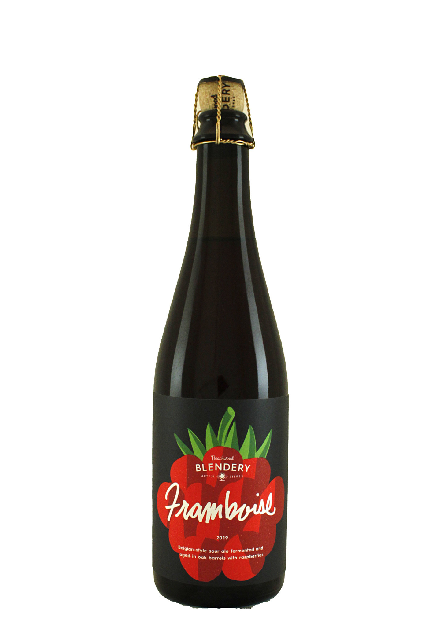 "Beachwood Blendery ""Framboise"" 2019 Belgian-Style Sour Ale 500ml. Bottle - Long Beach, CA"