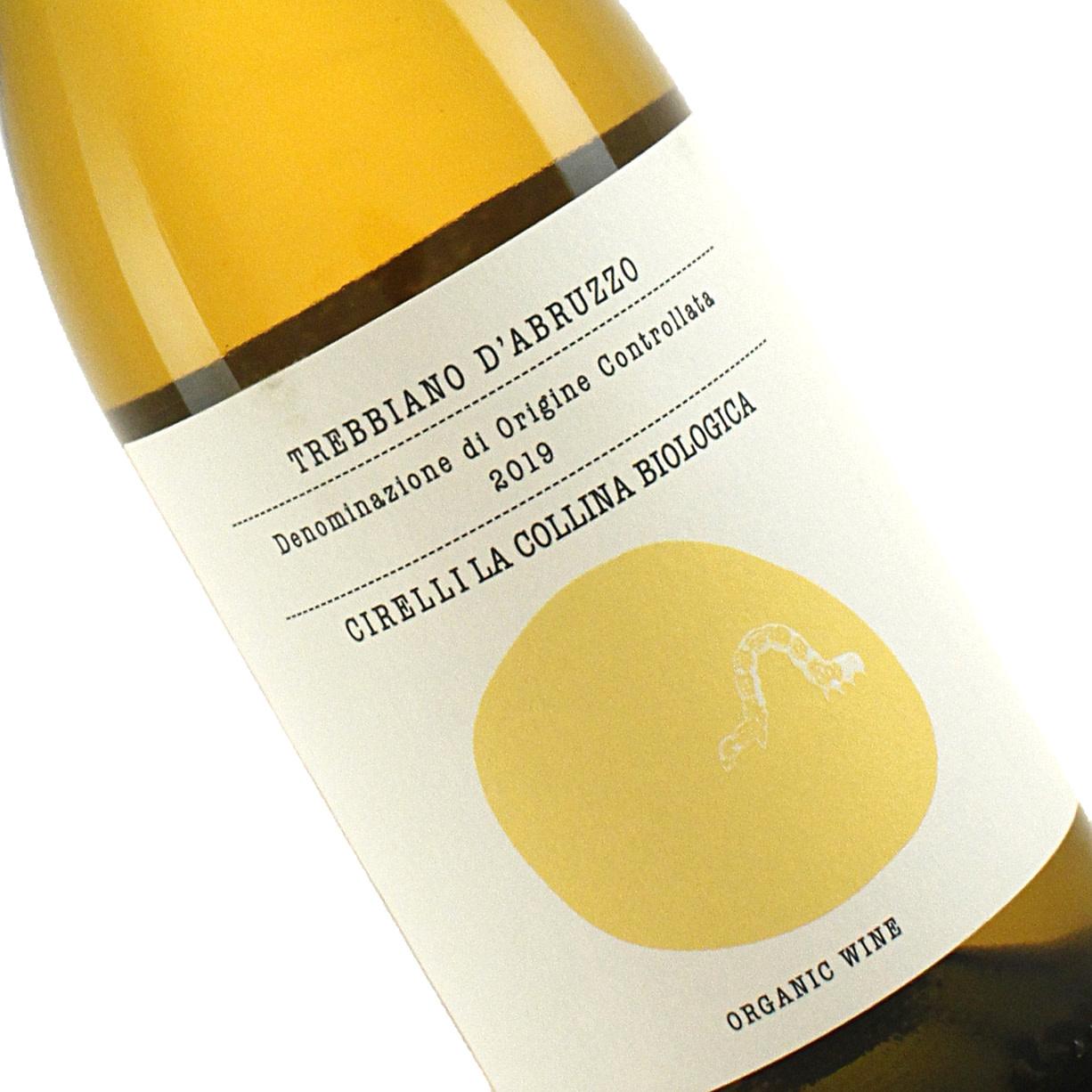 Cirelli 2019 Trebbiano D'Abruzzo Organic White Wine, Italy