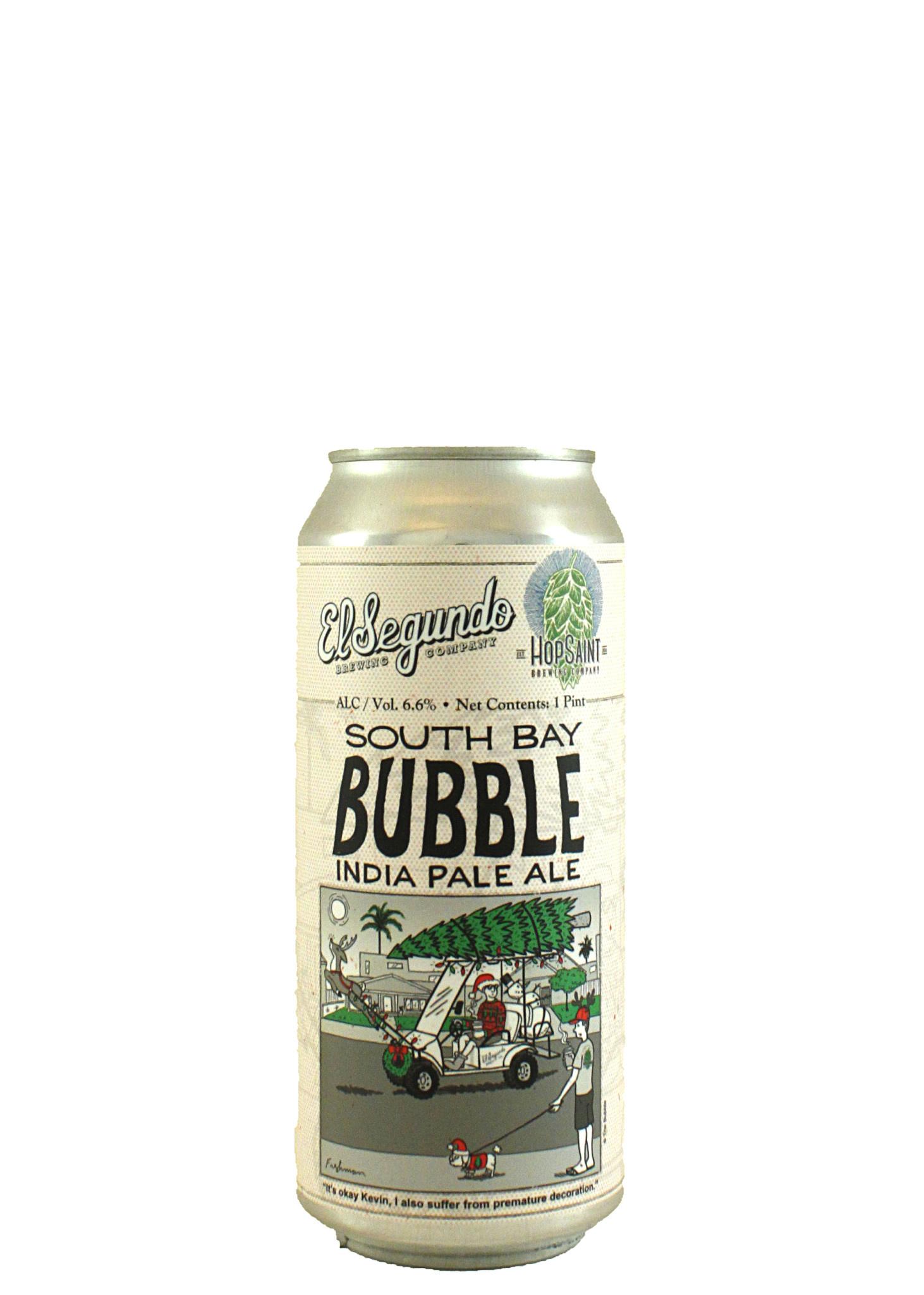 """El Segundo Brewing """"South Bay Bubble"""" IPA 16oz. Can - El Segundo, CA"""