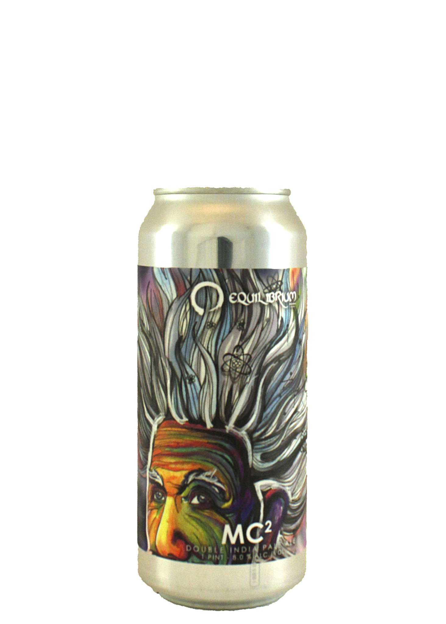 "Equilibrium Brewery ""MC2"" Double IPA 16oz. Can - Middletown, NY"