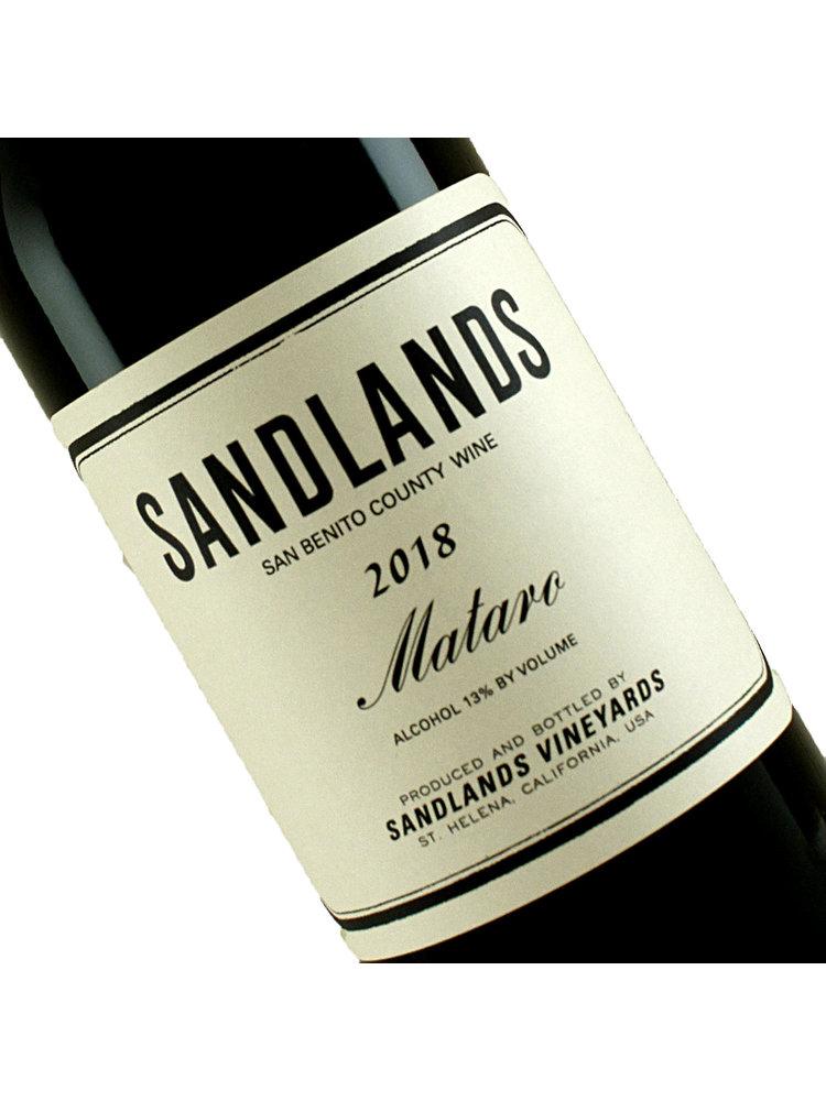 Sandlands 2018 Mataro, San Benito County