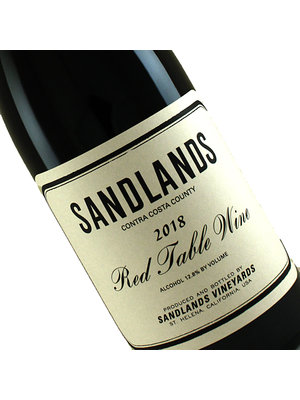 Sandlands 2018 Red Table Wine , Contra Costa County