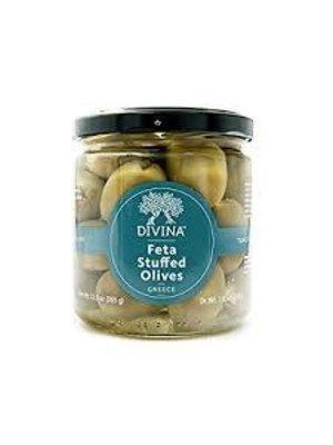 Divina Feta-Stuffed Olives, Greece, 12.9 oz