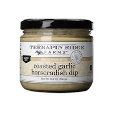 Terrapin Ridge Roasted Garlic Horseradish Dip, Clearwatger, Floriday  10.2 oz.