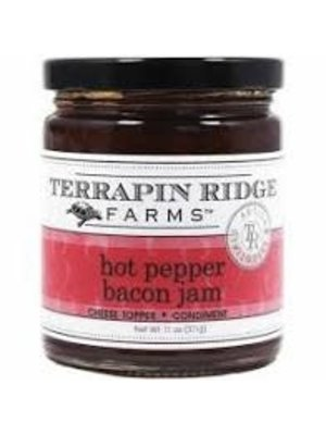 Terrapin Ridge Hot Pepper Bacon Jam, Clearwater, Florida, 5oz.